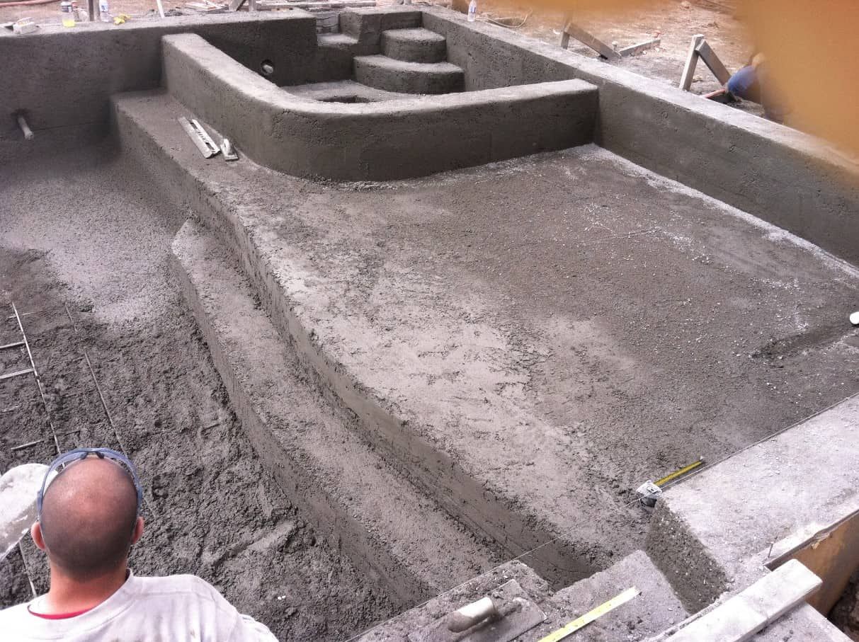 Shotcrete pools are more customizable and durable than form-and-pour pools.